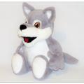 Лиса, волк и коала с вышивкой