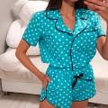 Пижама в горошек